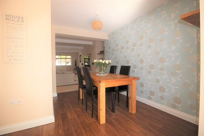 Three Bedroom Extended Property With Large Garden Estate