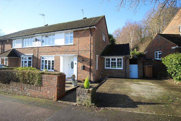 Extended Three Bedroom Semi Detached House in Redhill
