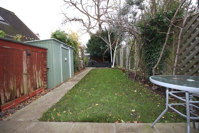 rear garden s